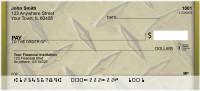 Go Green With Diamond Plate Personal Checks