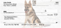 German Shepherd Personal Checks | DOG-01