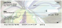 Romantic Watercolor Orchids Personal Checks | FLO-75