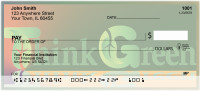 Think Green Personal Checks | FUN-51