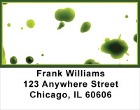 Painting It Green Address Labels | LBABS-52