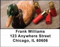 Duck Hunting Address Labels