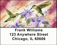 Hummingbird Magic Address Labels | LBANI-21