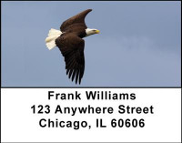 Bald Eagles Address Labels | LBANI-29
