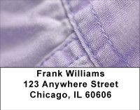 Colorful Denim Address Labels | LBBBD-28