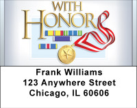 With Honor Address Labels | LBBBD-60