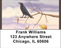 Fall Crows Address Labels | LBBBD-69