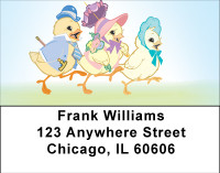 Ducks On Parade Address Labels | LBBBD-71