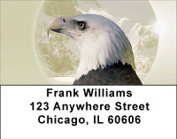 American Eagle Portrait Address Labels | LBBBD-98