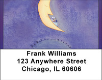 Shoot For The Moon Address Labels