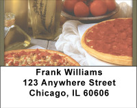 Pizza Pleaser Address Labels