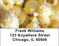Popcorn Puffs Address Labels