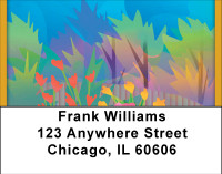 Hot Garden Address Labels | LBBBF-63