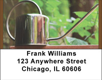 Watering Cans Address Labels | LBBBF-66