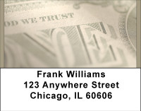 In God We Trust Address Labels | LBBBF-80