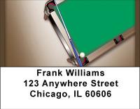 Billiard Tables Address Labels