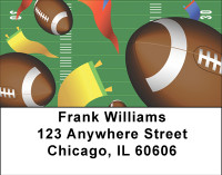 Fields Of Footballs Address Labels | LBBBH-01