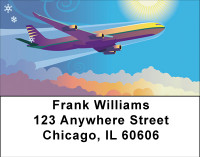 Commercial Travel Address Labels | LBBBH-42
