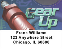 Gear Up Address Labels | LBBBH-64