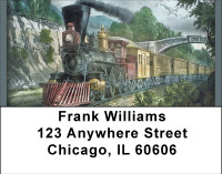 America By Train Address Labels | LBBBH-68