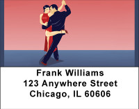 Steamy Tango Address Labels | LBBBH-94