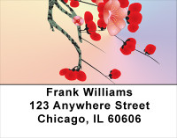 Japanese Cherry Tree Address Labels | LBFLO-22
