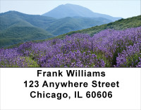 Mountain Wildflowers Address Labels | LBFLO-65