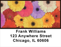Retro Garden Address Labels | LBFLO-74