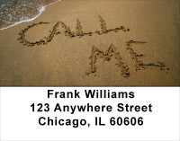 Call Me Address Labels | LBFUN-08