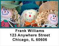 Scarecrows Address Labels | LBFUN-55