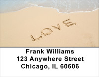 Romance Address Labels | LBLOV-05
