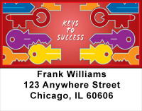 Keys To Success Address Labels | LBPRO-20