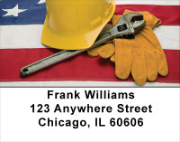 American Workers Address Labels