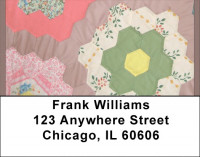 Vintage Quilt Address Labels