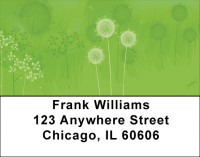 Fields Of Wildflowers And Dragonflies Address Labels | LBQBC-11