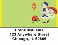 Lucky Ladybug Fairy Address Labels | LBQBC-91