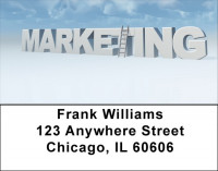 Over The Top Marketing Address Labels | LBQBD-52
