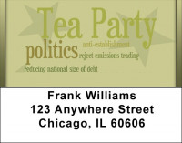 Tea Party Positions Address Labels | LBQBE-38