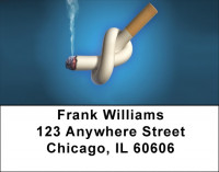 Stop Smoking Address Labels | LBQBE-54