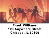 Party On Address Labels | LBQBE-62