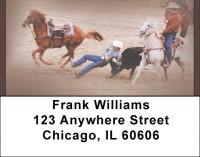 Bulldogging Address Labels