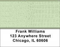 Green Gator Prints Address Labels | LBQBR-16