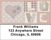 Love Quilt Address Labels