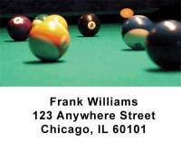 Billiard Address Labels