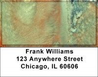 Watercolors On Canvas Address Labels | LBZABS-49
