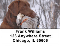 Labradors At Work Address Labels | LBZDOG-29