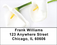 Calla Lilies Address Labels | LBZFLO-23