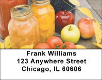 Country Kitchen Address Labels | LBZFOD-05