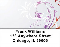 Filigree In All Seasons Address Labels | LBZGEP-38