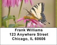 Brown Eyed Susans With Butterfly Address Labels | LBZNAT-38